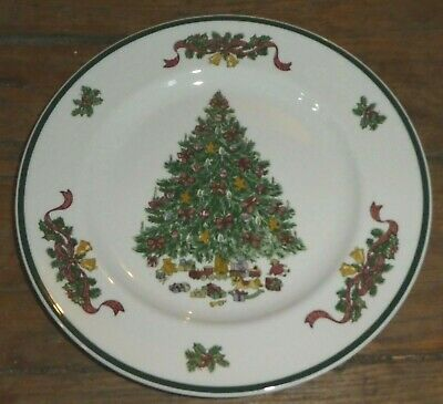 Johnson Brothers VICTORIAN CHRISTMAS (England) Dinner Plate Rimmed Bowl PO