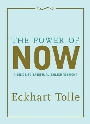 NEW The Power of Now - Gift Edition By Eckhart Tolle Hardcover Free Shipping