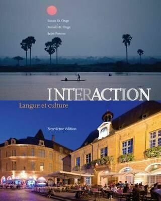 NEW Interaction By Susan St. Onge Paperback Free Shipping
