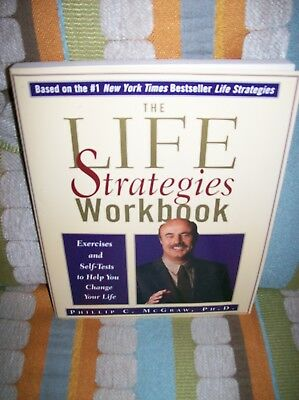 DR  PHIL MCGRAW Life Strategies Workbook 203 pages Near Mint condition