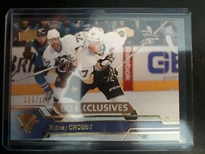 2016-17 Upper Deck- Sidney Crosby UD Exclusives '#'ed 83/100