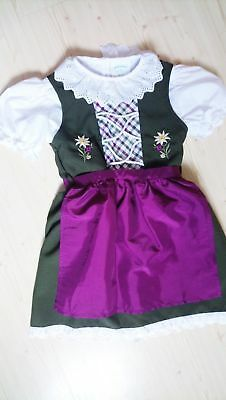 Girls,Kids  size 4T,Germany,German,Trachten,Oktoberfest,Dirndl Dress,3-pc.US