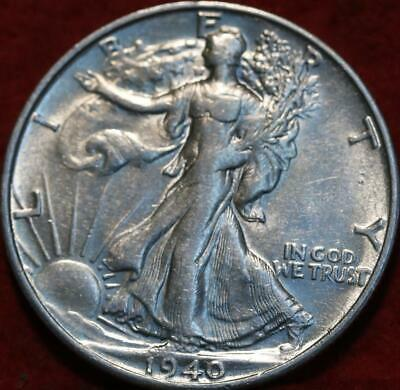 1940-S San Francisco Mint Silver Walking Liberty Half