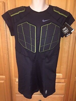 7d225c40d1b6 NWT Nike Pro Combat Hyperstrong Men s 4-Pad Compression Shirt 626418-010