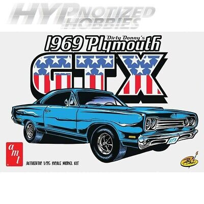 Amt 1:25 1969 Plymouth Gtx Dirty Donny 1065