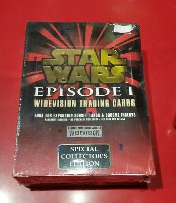 Star Wars Episode 1 WIDEVISION trading cards box set - SPECIAL COLLECTORS ED