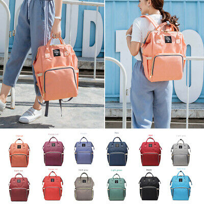 LEQUEEN Fashion Mummy Maternity Nappy Bag Brand Baby Care Backpack Nursing Bags