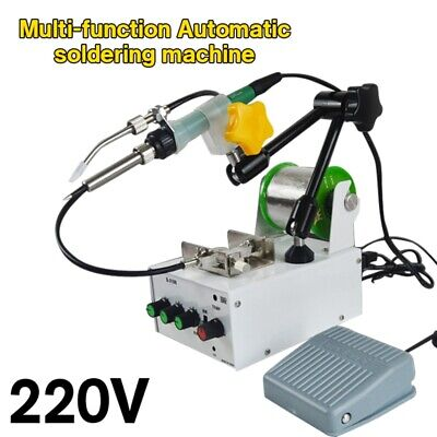 220V Automatic Soldering Machine Pedal Electric Spot Welding Gun Solder Station