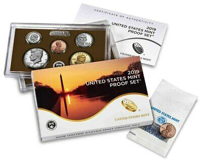 **ANNUAL FROM US MINT>2019-S San Francisco Mint Proof (11) Coin Set w/COA&Extras