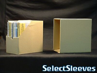 Cardboard Storage Box for Mini LP CD Paper Sleeve CDs Holds 15~20 SelectSleeves