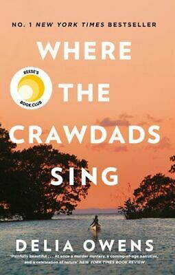 NEW Where the Crawdads Sing By Delia Owens Paperback Free Shipping