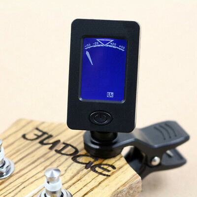 Chromatic Clip-On Digital Tuner for Acoustic Electric Guitar Bass Violin Ideal P