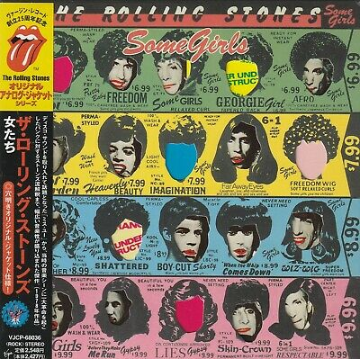The Rolling Stones - Some Girls. Japan.obi.mini-Lp Sleeve