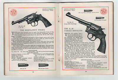 Rare 1931 SMITH & WESSON 75th Anniversary Catalog REVOLVERS Guns FIREARMS Pistol