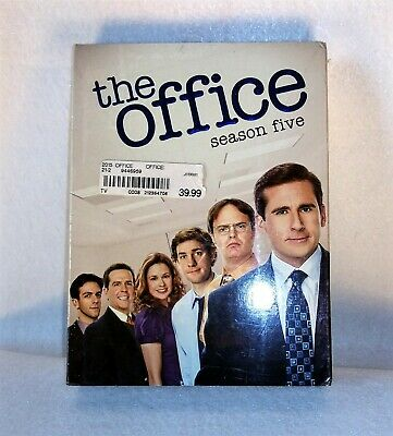 The Office - Season Five (DVD, 2009, 5-Disc Set) Brand New