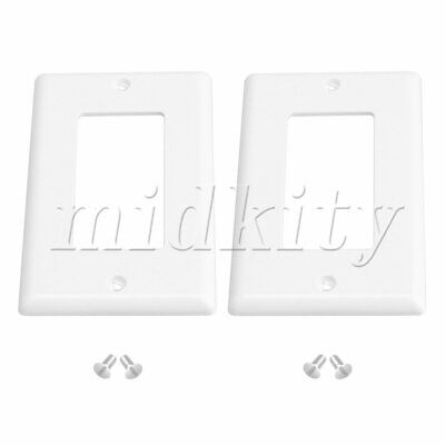 2PCS Decorator Outlet Cover Home Electrical Outlet Cover Power Socket 115x70mm