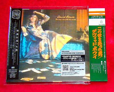David Bowie The Man Who Sold The World MINI LP CD + PROMO OBI JAPAN TOCP-70142