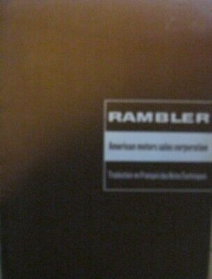 * Rambler 62 1963 Technical information french / francais