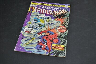 Marvel Comics - The Amazing Spiderman- April 1975 Issue     (Bh147)