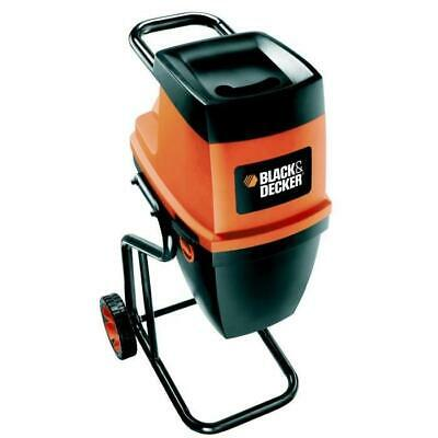 BLACKetDECKER Broyeur de vegetaux electrique 2400 W GS2400 - Black & Decker