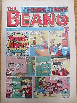 THE BEANO UK COMIC January 31 1987 No. 2324 Original Vintage Birthday Gift