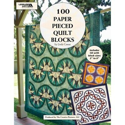 Leisure Arts-100 Paper Pieced Quilt Blocks