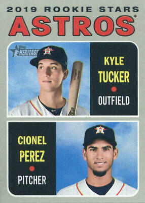 2019 Topps Heritage Baseball Singles #201 - #400 YOU PICK COMPLETE YOUR SET