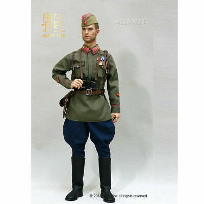 Leather Boots for Feet Soviet Red Navy - 1//6 Scale Alert Line Action Figures