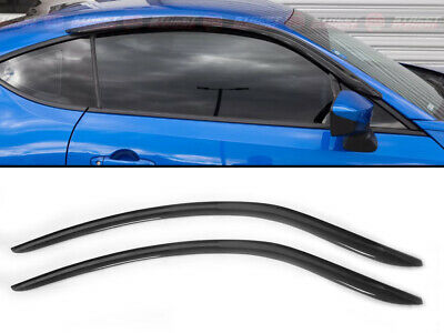Window Visors Guard Vent Deflector Weather Shield For Toyota GT86 FR-S 12-19