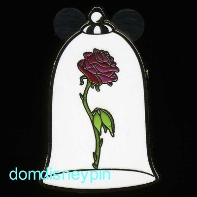 Disney Pin *Parks* - Themed Set - Beauty & the Beast (Glass Covered Rose ONLY)!