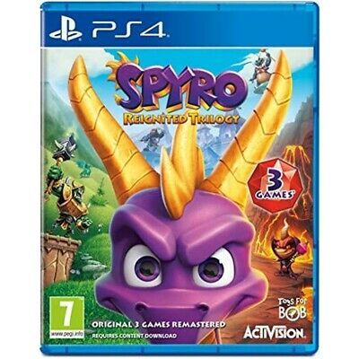 Spyro: Reignited Trilogy (english/arabic Box) /ps4