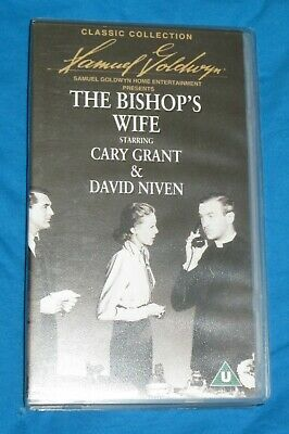 The Bishop's Wife (1947)  Cary Grant VHS Cassette PAL