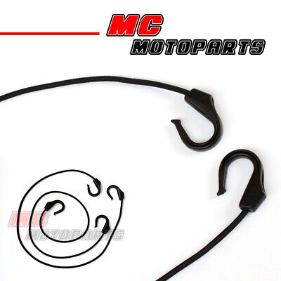 2pcs Bungee Cord POM Hooks Reliable Flexible Heavy Duty For Motorcycles 104E