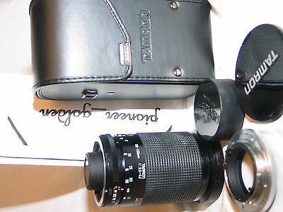 TAMRON ADAPTALL 2, 35-135MM f/3.5-4.2 tele macro LENS excellent