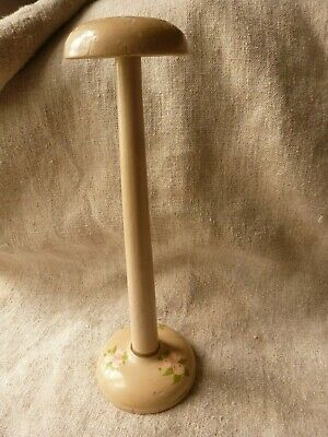 Antique Art Deco French Milliners Hat Wig Stand