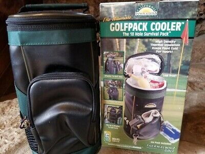 California Innovations Golfpack Cooler Sporting Goods The 18 Hole Survival Pack 12 Cans Blue
