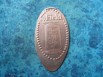 THE FIELD MUSEUM CHICAGO Elongated Penny Pressed Smashed 28