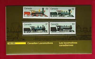 1984 Thematic Collection # 29 Canada Stamps 1036  Canadian Locomotives 1860 1905