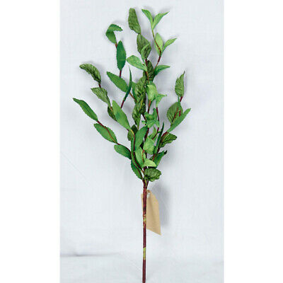"""Mixed Green Herb Leaves Pick / Spray 16"""" High - Spring Floral Farmhouse Greenery"""
