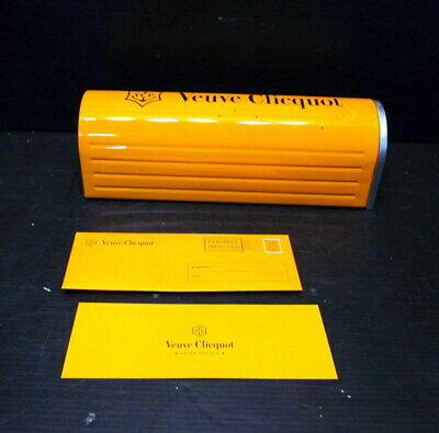 Veuve Clicquot VCP Moet Hennessy Empty Tin Mailbox