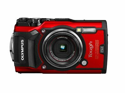 Olympus TG-5 Rot digitale Kompaktkamera 12 MP 4,5-18mm Objektiv 4x Zoom