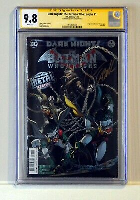 Dark Nights: Metal - The Batman Who Laughs #1 Cgc Ss 9.8 Signed Jason Fabok