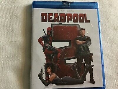 Deadpool 2 Blu-ray (BluRay + Digital HD 2018)  BRAND NEW - Sealed Unopened