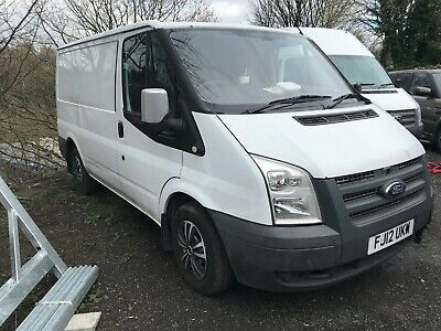 2012 FORD TRANSIT T250 SWB FWD TDCi 100PS WHITE NON RUNNER SPARES OR REPAIR