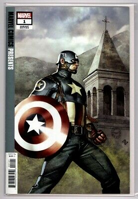 Marvel Comics Presents #1  Adi Granov Variant Cover Captain America 1st Print