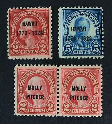 CKStamps: US Stamps Collection Scott#646-648 Mint NH OG