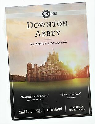 Downton Abby - The Complete Collection - 22 disc set on DVD