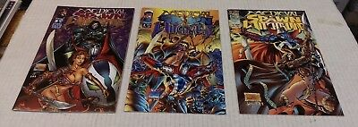 Medieval Spawn Witchblade #1-3 Complete Run VF/NM or Better Condition