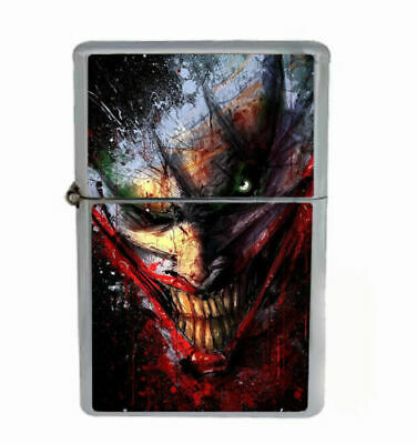 Scary Joker  Windproof Dual Flame Torch  Lighter