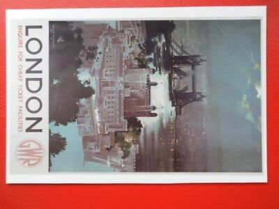 Postcard Gwr London - Enquire For Cheap Tickets